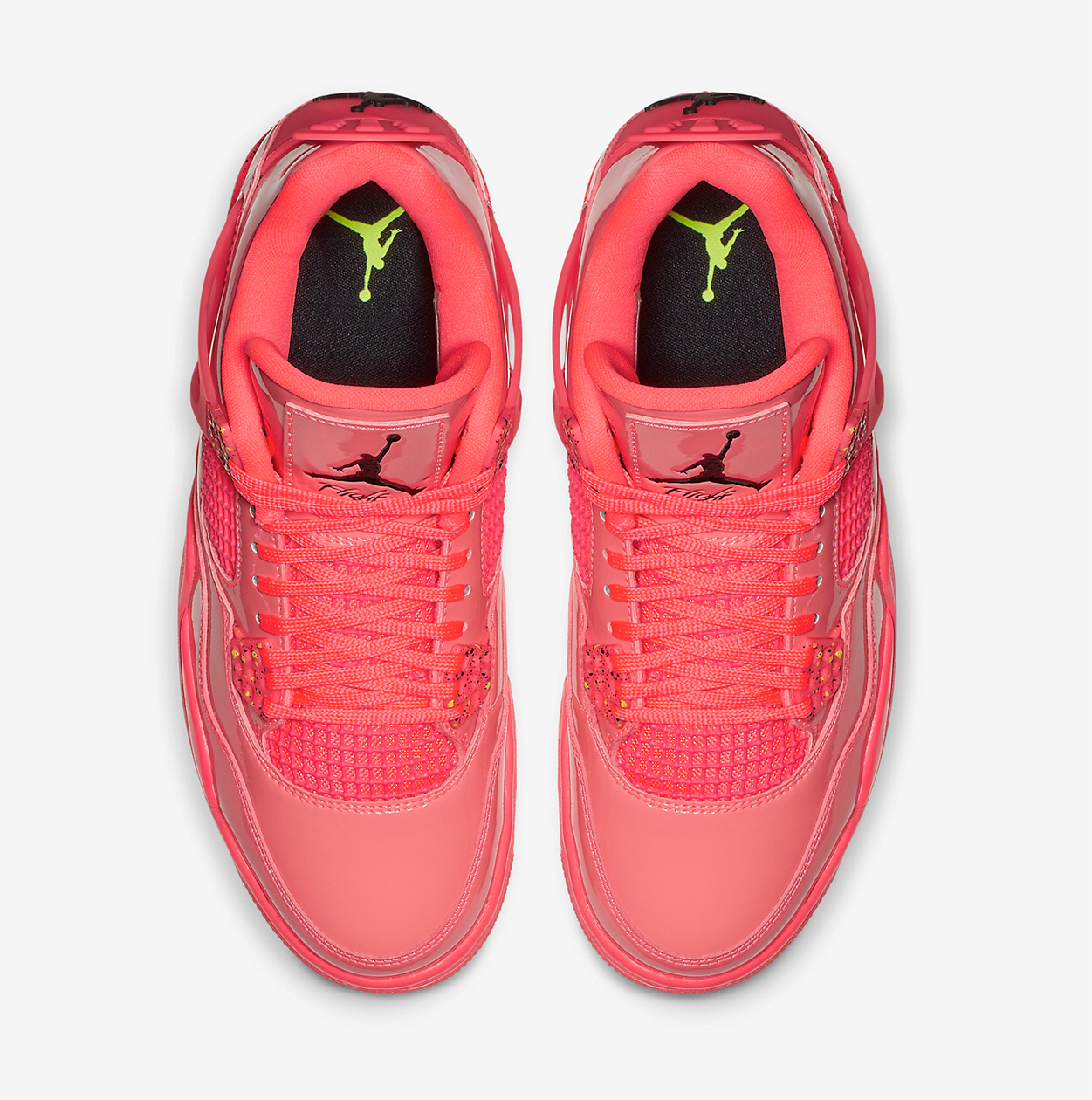 Air Jordan 4 NRG Hot Punch Black Volt AQ9128-600 Release Date Price