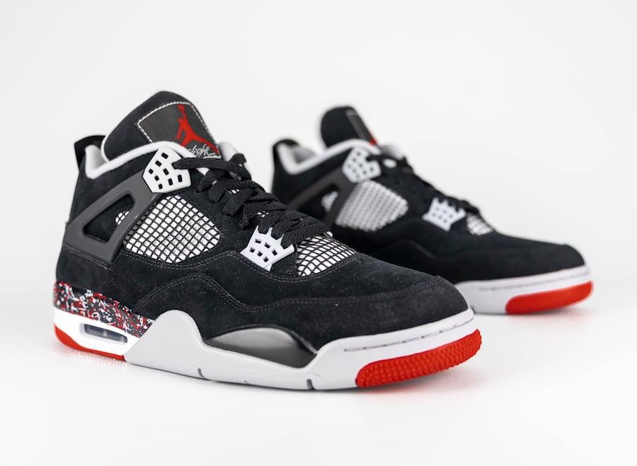 Air Jordan 4 Splatter Nike Air Release