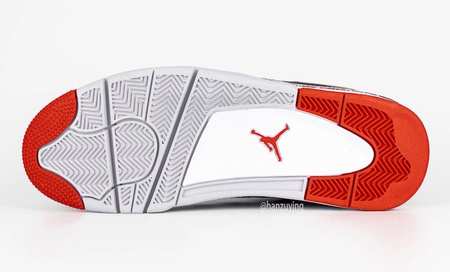 Air Jordan 4 OVO Splatter