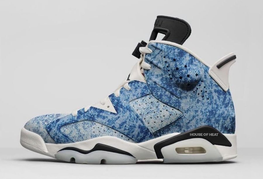 Air Jordan 6 Acid Wash Denim January Release Date