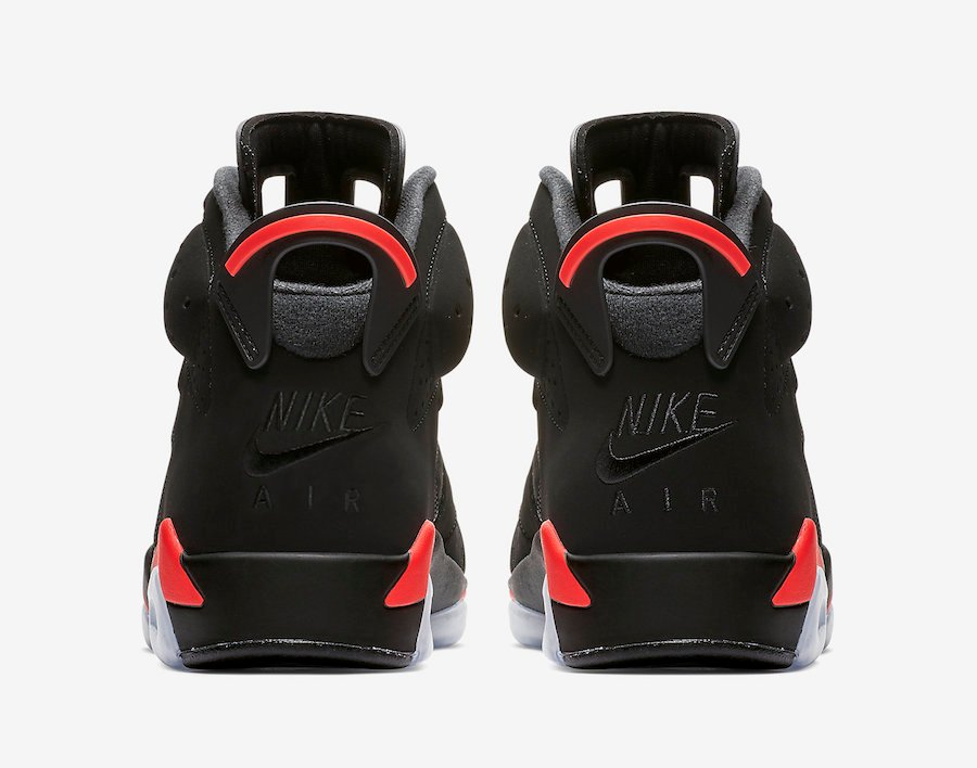 Air Jordan 6 Black Infrared 2019 Retro 384664-060 Release Date Info
