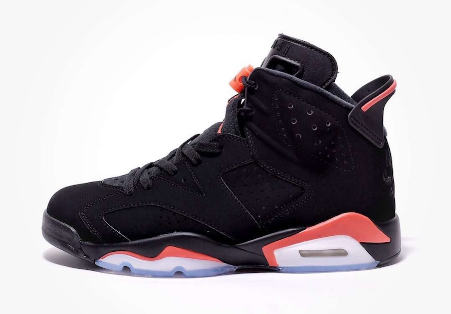 Air Jordan 6 Black Infrared February Release Date