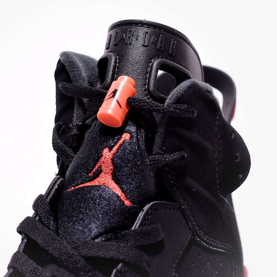5a21bb699316b Air Jordan 6 Black Infrared OG 2019 384664-060 Nike Air | SneakerFiles