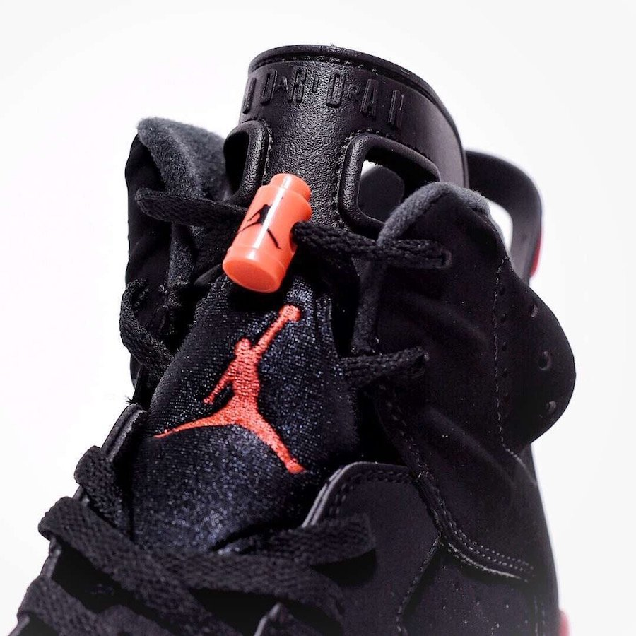 685a0dca4ef2 Air Jordan 6 OG Black Infrared 2019 384664-060 Release Date
