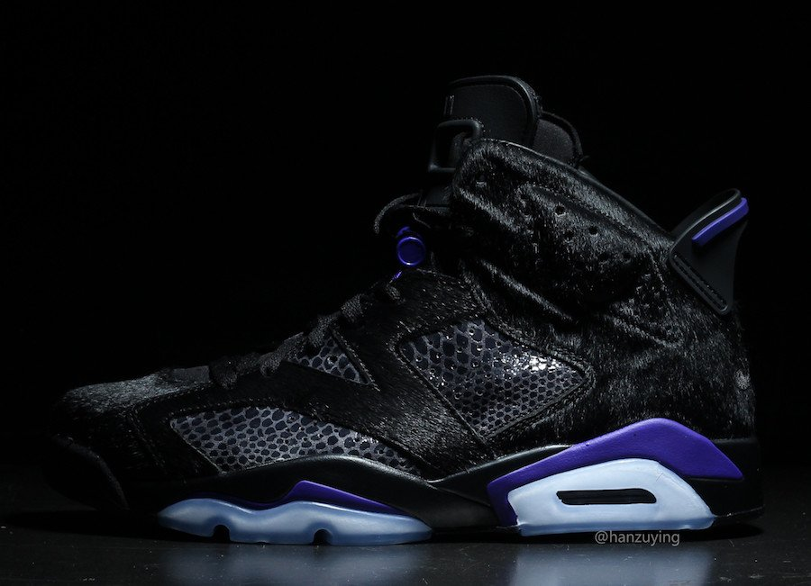 Air Jordan 6 Pony Hair Cow Fur Snakeskin January Release Date