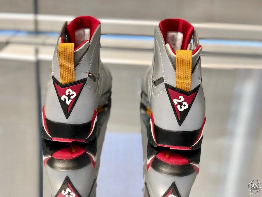 Air Jordan 7 Reflective Cardinal BV6281-006 Release Date