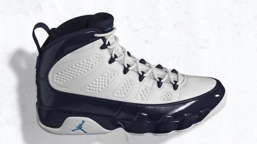 Air Jordan 9 Pearl Blue