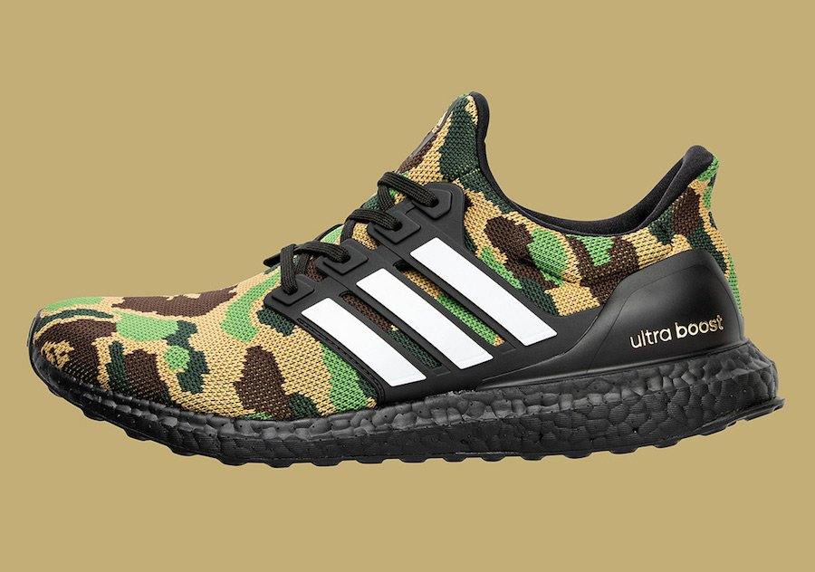 Bape adidas Ultra Boost Super Bowl Collection