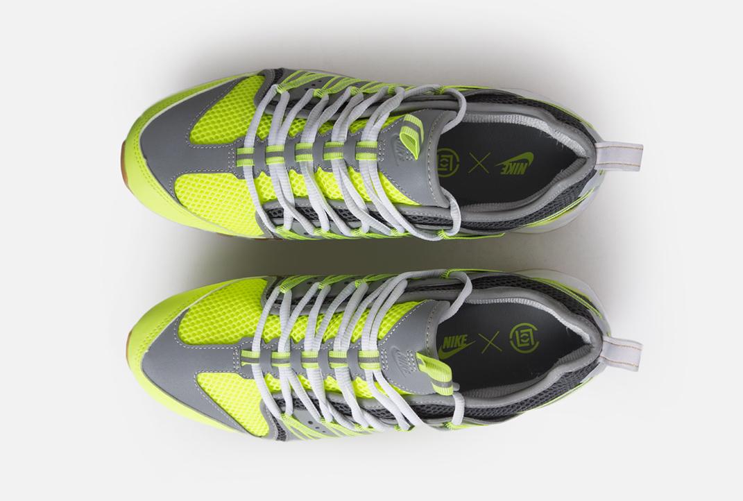 Clot Nike Zoom Haven 97 Volt Dark Grey Pure Platinum Release Date