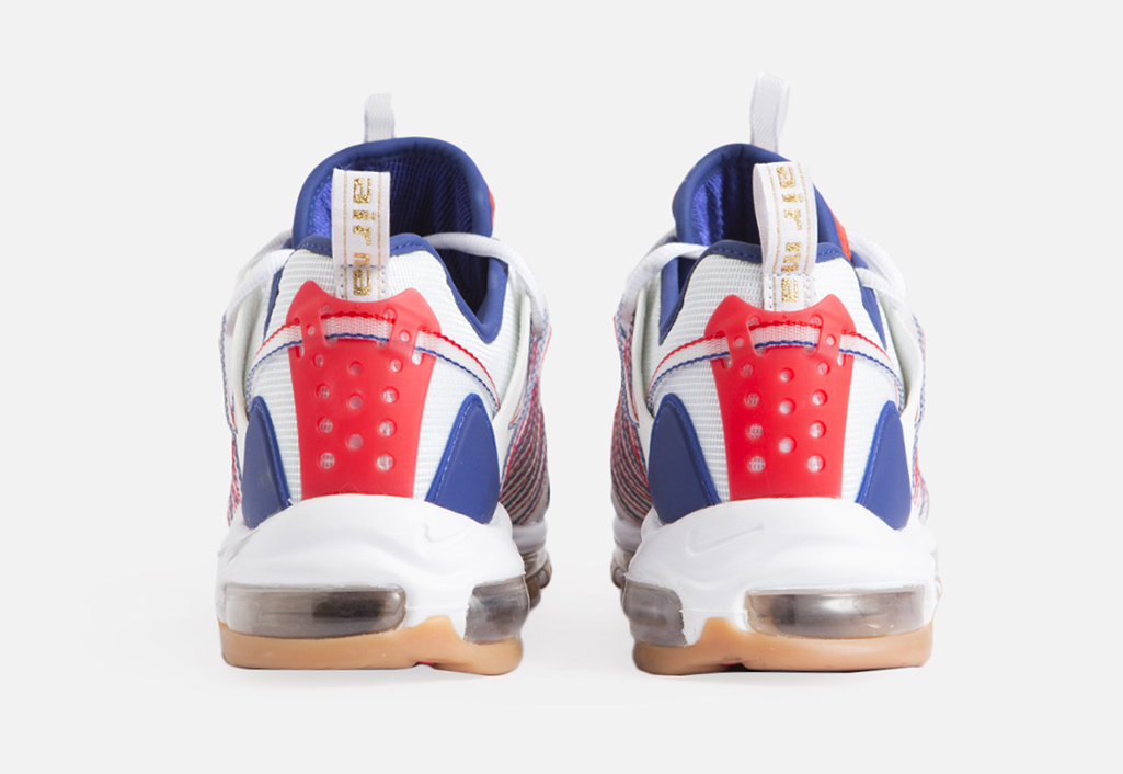 Clot Nike Zoom Haven 97 White Sail Deep Royal Blue Release Date