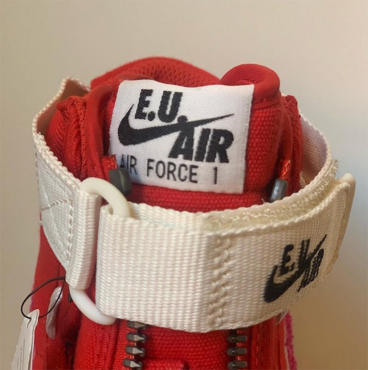 Emotionally Unavailable Nike Air Force 1 High Release Date