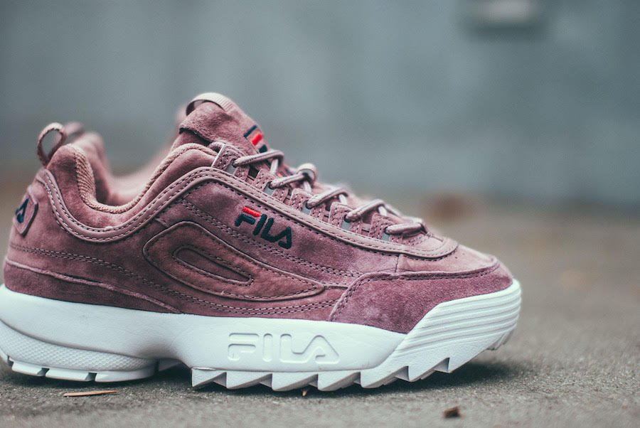Fila WMNS Disruptor Low Ash Rose Release Date