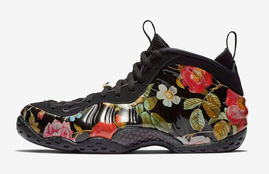 Floral Nike Air Foamposite One 314996-012