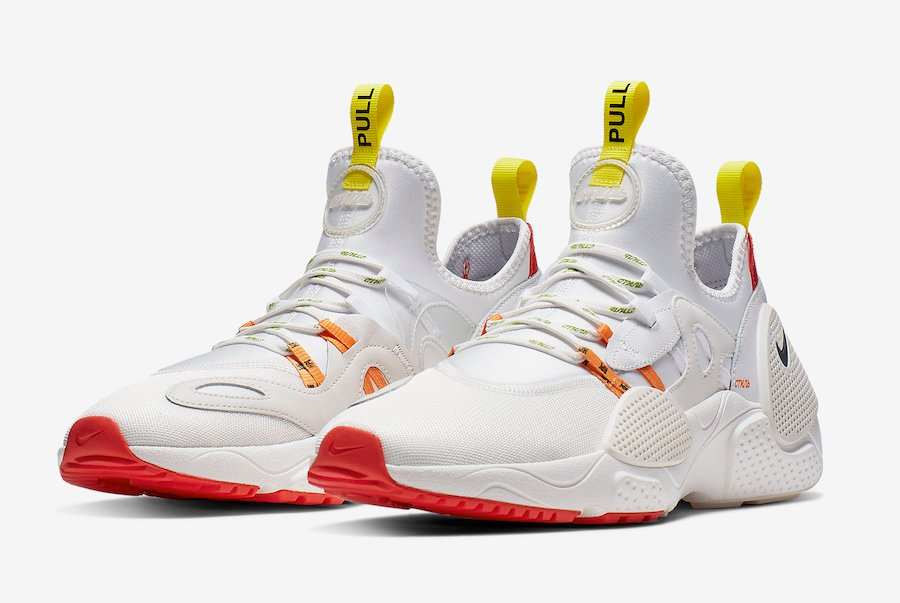Heron Preston Nike Huarache EDGE White CD5779-100 Release Date