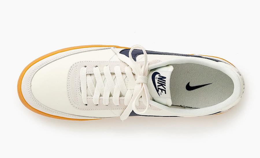 J. Crew Nike Killshot 2 Sail Navy Gum Release Date