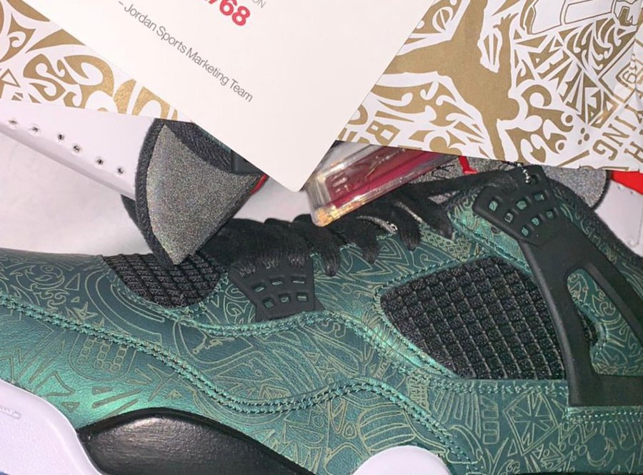Jalen Ramsey Air Jordan 4 Laser Green