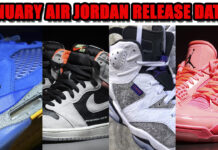 January 2019 Air Jordan Release Dates