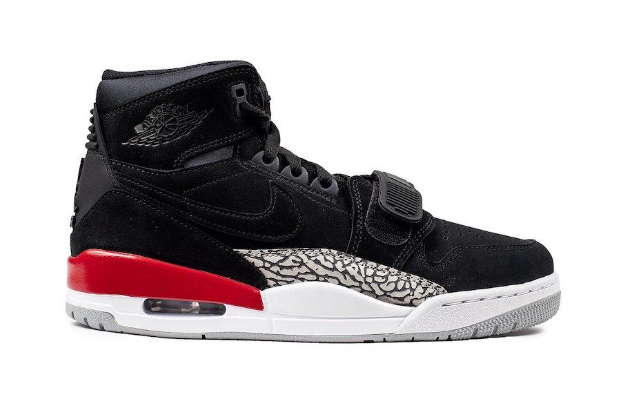 Jordan Legacy 312 Black Suede AV3922-060 Release Date