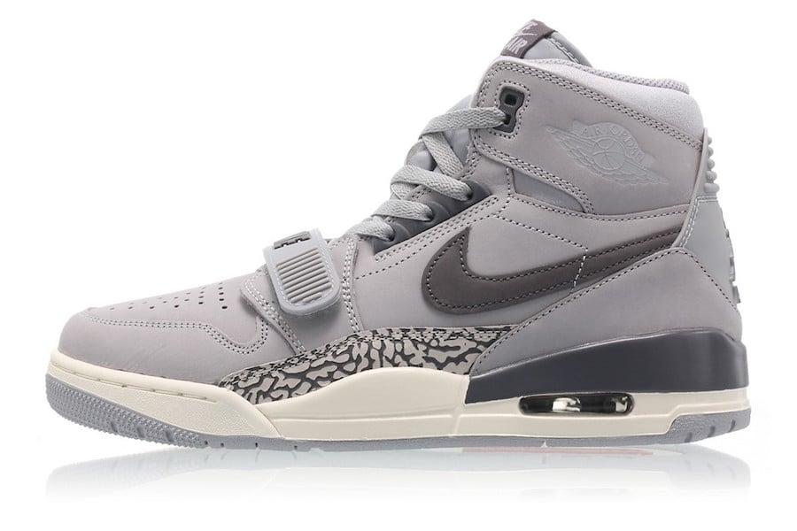 Jordan Legacy 312 Wolf Grey AV3922-002 Release Date