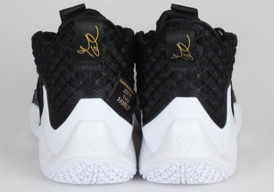 Jordan Why Not Zer0.2 The Family Black White Release Date