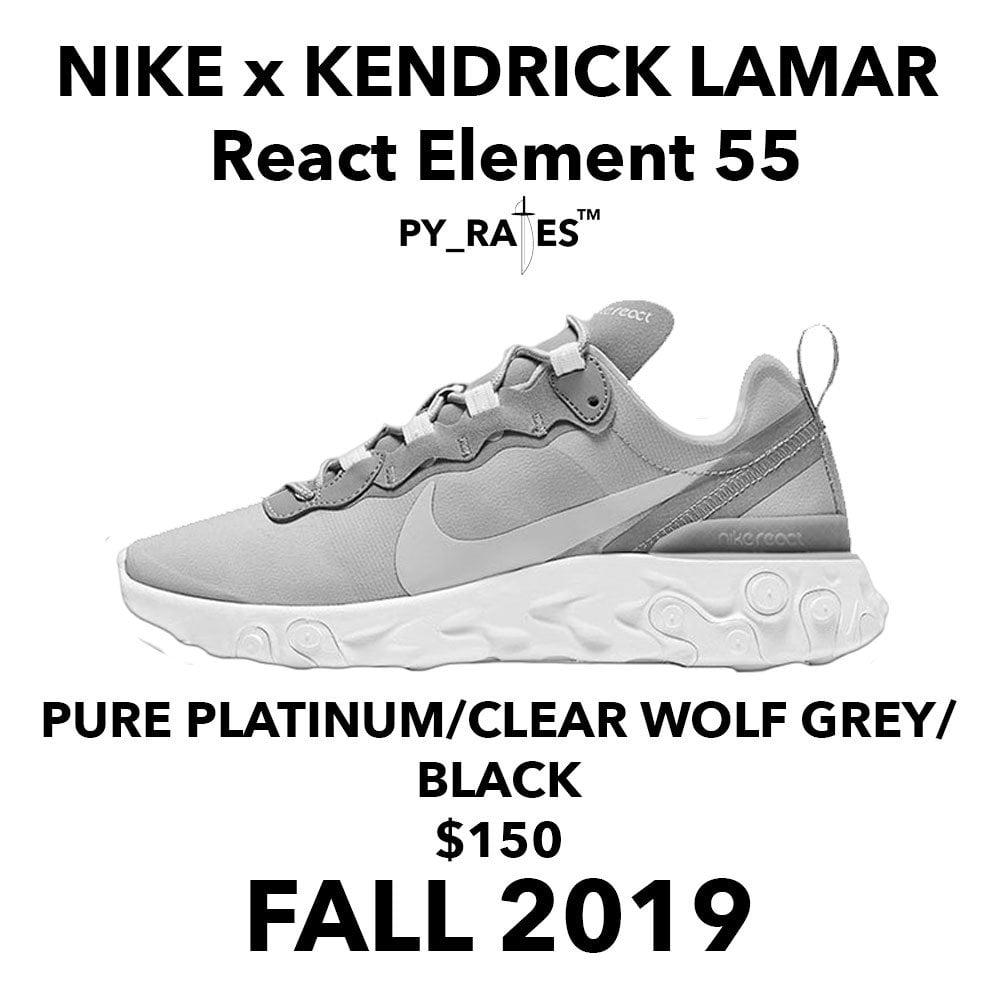 Kendrick Lamar Nike React Element 55 Release Date