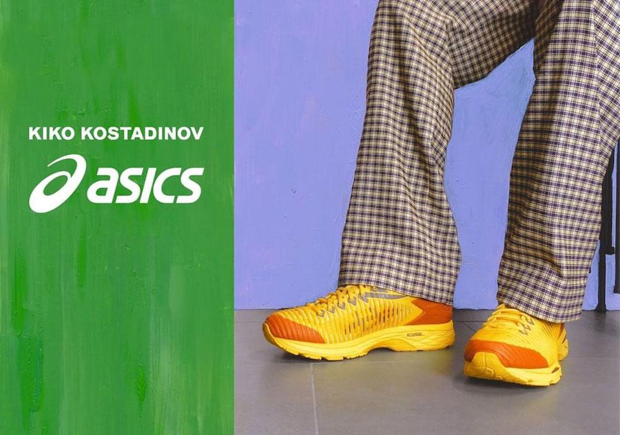 Kiko Kostadinov Asics Gel Delva Release Date