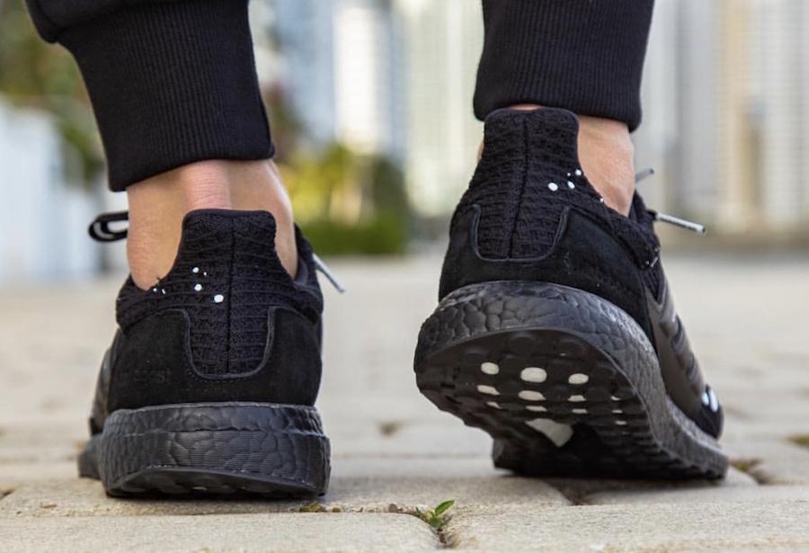 Madness adidas Ultra Boost Black On Feet