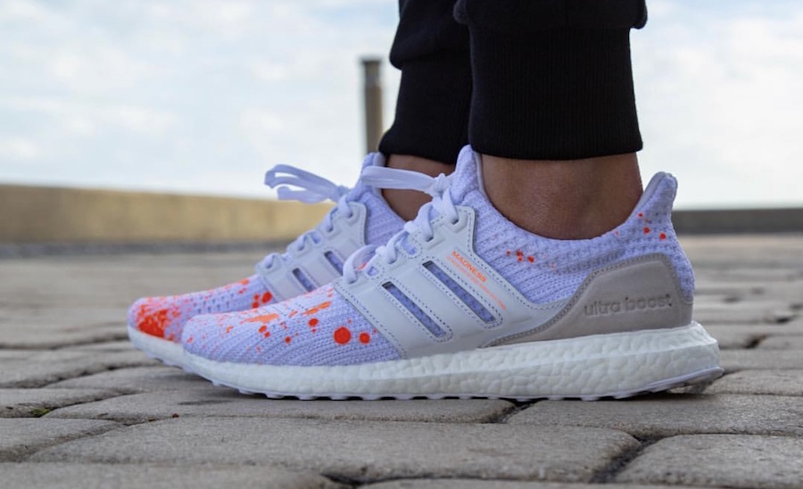 Madness adidas Ultra Boost White On Feet