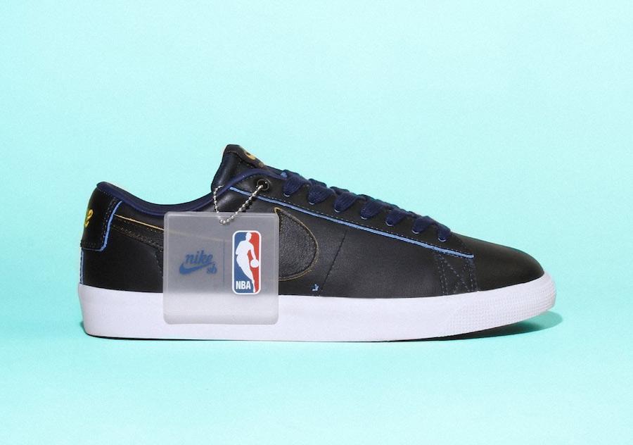 NBA Nike SB Blazer Low Wear-Away Leather Pack Release Date