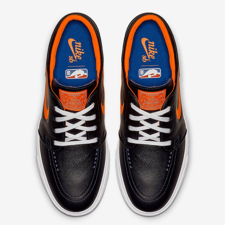 NBA Nike SB Janoski Knicks BQ6397-024 Release Date