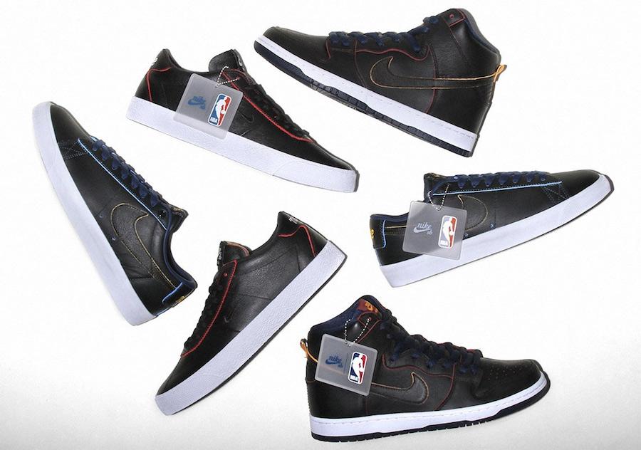 NBA Nike SB Wear-Away Leather Pack Release Date