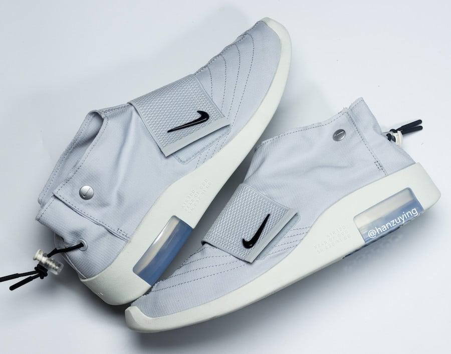 28179737 Nike Air Fear of God Moccasin Light Bone Pure Platinum AT8086-001 ...