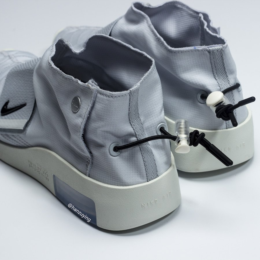 Nike Air Fear of God Moccasin Light Bone AT8086-001 Release Date