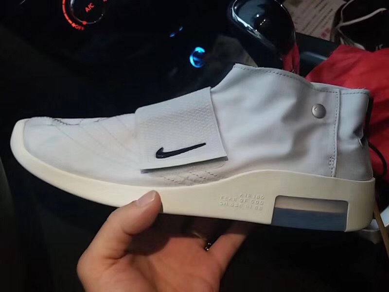 finest selection c2131 e162d Nike Air Fear of God Moccasin Light Bone Release Date
