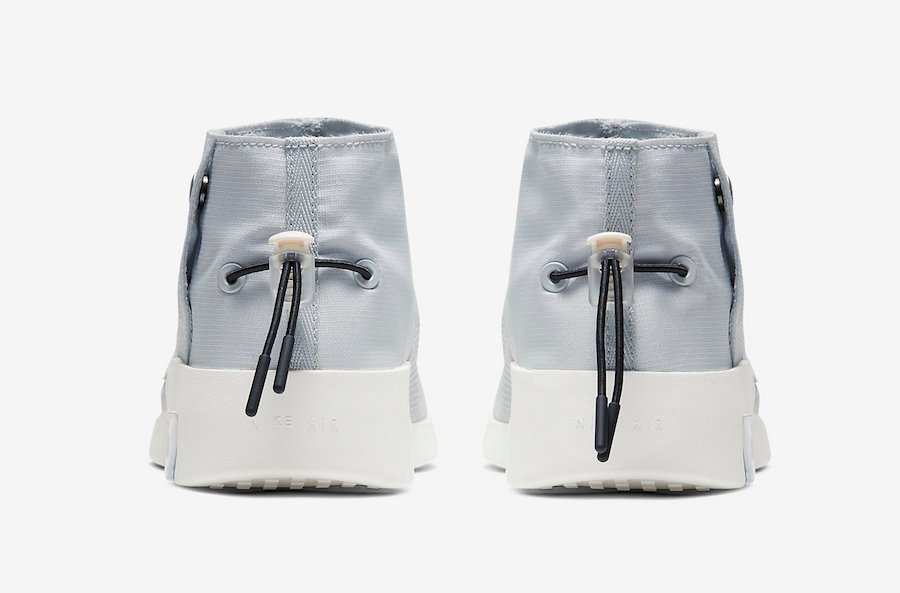 Nike Air Fear of God Moccasin Pure Platinum AT8086-001 Release Date