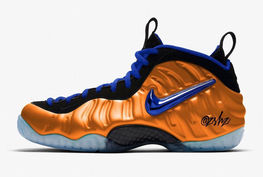 Nike Air Foamposite Pro Knicks 624041-010 Release Date
