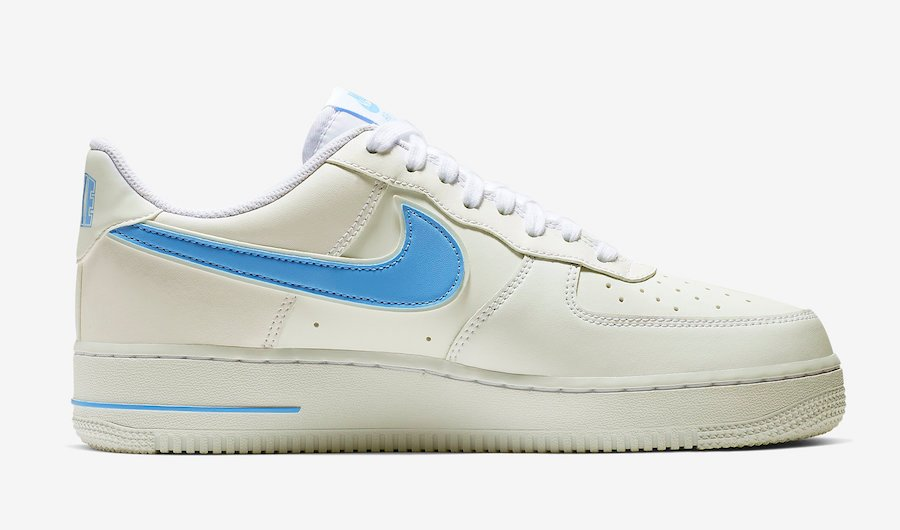 buy popular e1787 cec0f Nike Air Force 1 07 3 White University Blue AO2423-100