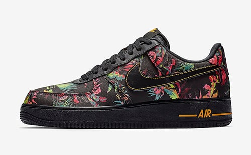 save off 67a1d 36a4d Nike Air Force 1 Floral BV6068-001