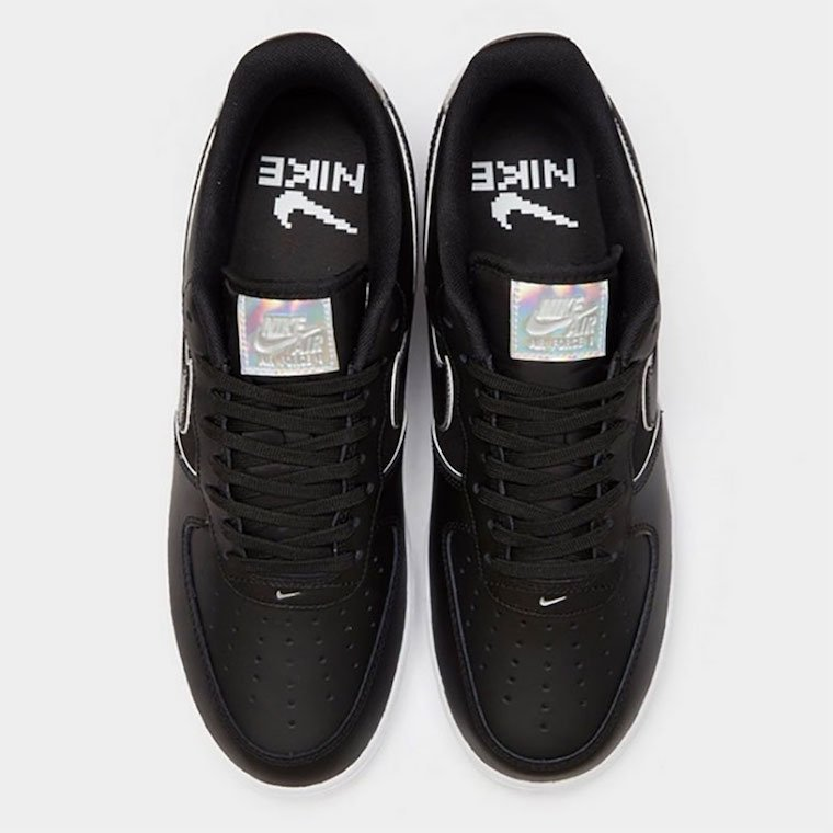 Nike Air Force 1 Low Black Iridescent