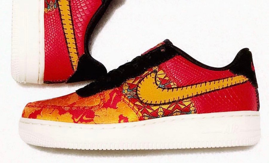 Nike Air Force 1 Low CNY Chinese New Year AV5167-600 Release Date