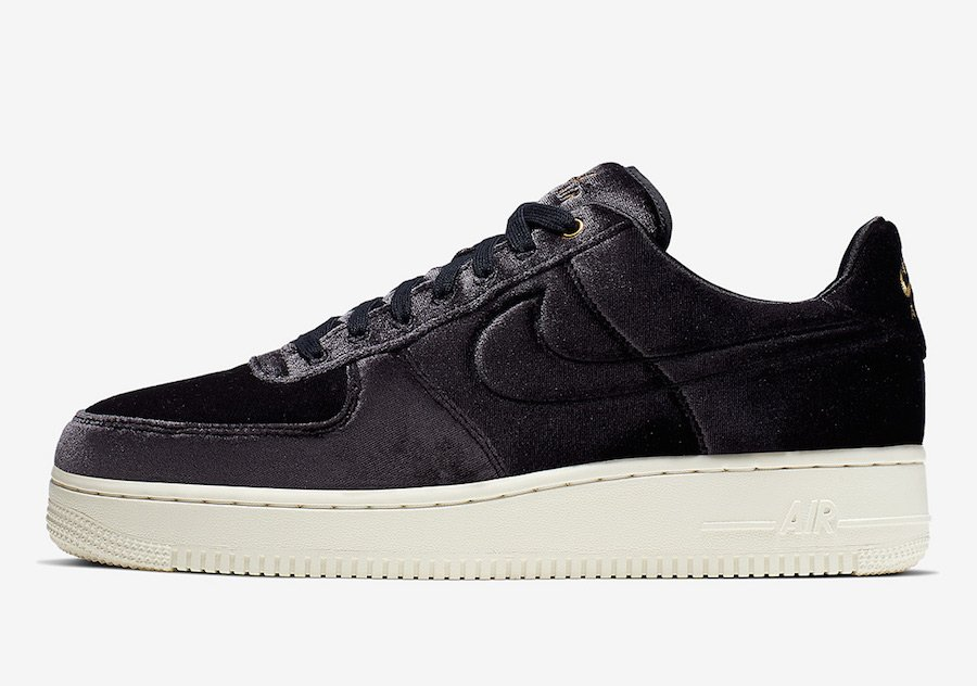 Nike Air Force 1 Low Premium Velour AT4144-001 Release Date