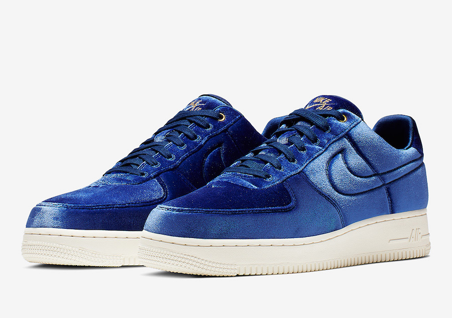 Nike Air Force 1 Low Premium Velour AT4144-400 Release Date