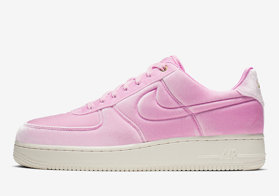 Nike Air Force 1 Low Premium Velour AT4144-600 Release Date
