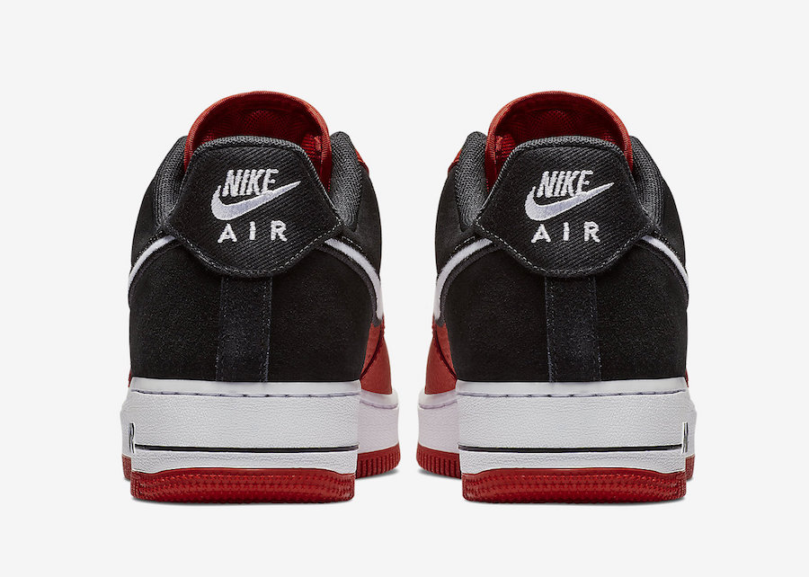 new styles 56403 9804a Nike Air Force 1 Red AO2439-600