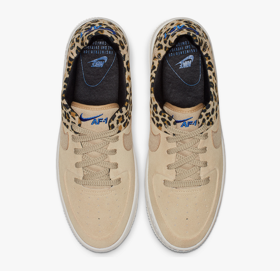 air force 1 leopardate