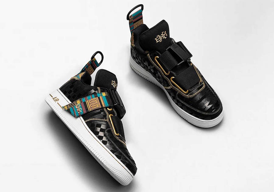 Nike Air Force 1 Utility BHM Release Date