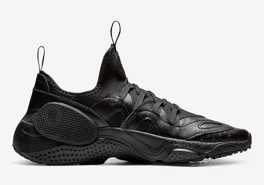 Nike Air Huarache EDGE Triple Black AV3598-002 Release Date
