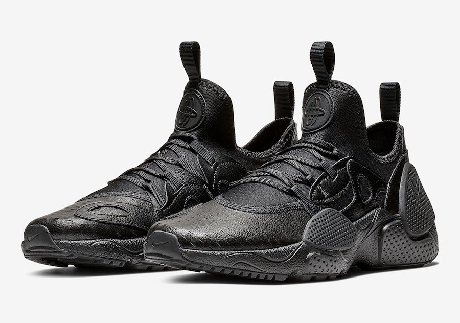 sports shoes 67791 419c3 Nike Air Huarache EDGE Triple Black AV3598-002 Release Date