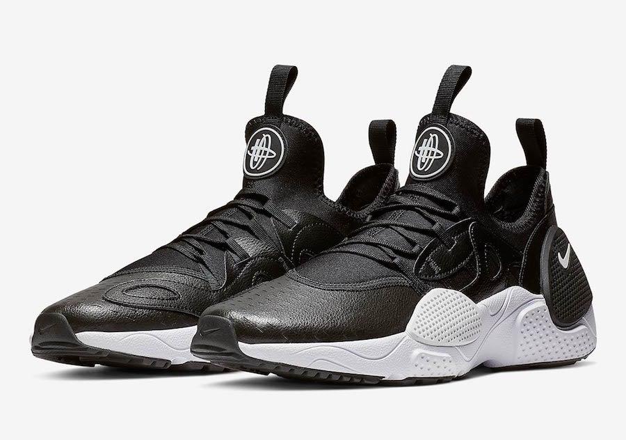 Nike Air Huarache Edge TXT Black White