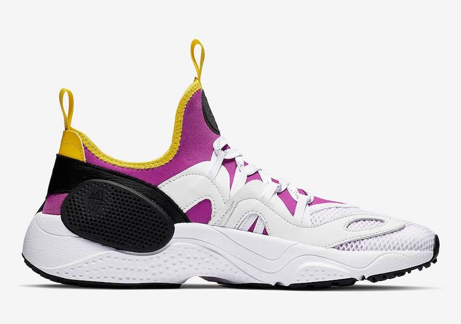 Nike Air Huarache Edge TXT OG Magenta Neon Yellow BQ5206-500
